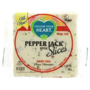 Follow Your Heart Pepper Jack Slices - 200g